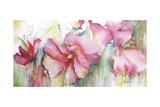 Horizontal Flores III Premium Giclee Print by Leticia Herrera