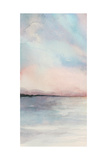 Sea Sunset Triptych I Premium Giclee Print by Grace Popp