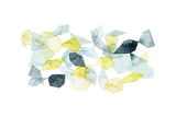 Seaglass Abstract I Premium Giclee Print by Grace Popp