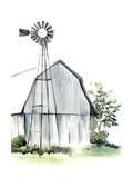 Watercolor Barn I Julisteet tekijänä Jennifer Paxton Parker