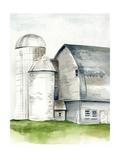 Watercolor Barn II Taide tekijänä Jennifer Paxton Parker