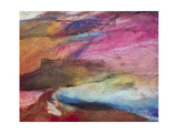 Fuchsia Expression I Premium Giclee Print by Gabriela Villarreal