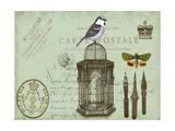 Postcards of Paris II Giclée-Premiumdruck von Sandy Lloyd