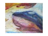 Fuchsia Expression III Premium Giclee Print by Gabriela Villarreal