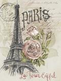 Paris Sketchbook I Poster af Jennifer Paxton Parker