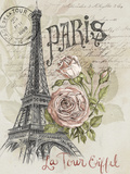 Paris Sketchbook I Giclée-Premiumdruck von Jennifer Paxton Parker