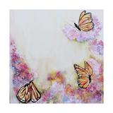 Tres Monarchas Print by Leticia Herrera