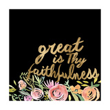 Floral Faith II Premium Giclee Print by  Studio W