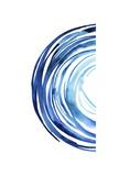 Blue Vortex I Premium Giclee Print by Grace Popp