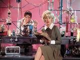 "Jerry Lewis; Stella Stevens. ""The Nutty Professor"" [1963], Directed by Jerry Lewis. Reproducción de lámina sobre lienzo"