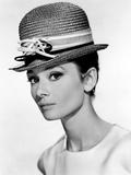 Audrey Hepburn, 1963. Impressão em tela esticada