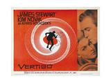 Vertigo [1958], Directed by Alfred Hitchcock. Exklusivt gicléetryck