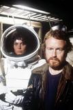 "Sigourney Weaver; Ridley Scott. ""Alien"" [1979], Directed by Ridley Scott. Fotografisk tryk"