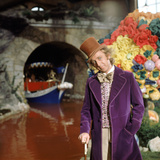"""Gene Wilder. """"Willy Wonka and the Chocolate Factory"""" [1971], Directed by Mel Stuart. 写真プリント"""