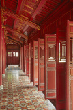 Hung Mieu Temple, Historic Hue Citadel, Imperial City, Hue, Vietnam Reproduction photographique par David Wall