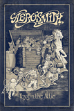 Aerosmith - Toys in the Attic (Blue) Print