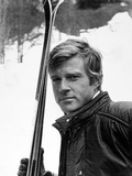 "Robert Redford. ""Downhill Racer"" [1969], Directed by Michael Ritchie. Impressão em tela esticada"