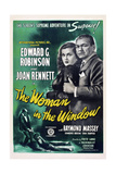 The Woman in the Window [1944], Directed by Fritz Lang. Giclee-trykk