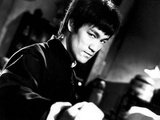 """Bruce Lee. """"The Chinese Connection"""" [1972] (Jing Wu Men), Directed by Wei Lo. Stretched Canvas Print"""