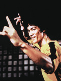 "Bruce Lee. ""Game of Death"" [1978], Directed by Robert Clouse. Stretched Canvas Print"
