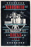 Aerosmith - Rocks Tour Kunstdruck