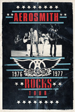 Aerosmith - Rocks Tour Print