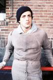 """Sylvester Stallone. """"Rocky"""" [1976], Directed by John G. Avildsen. Fotografie-Druck"""