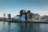 Guggenheim Museum designed by Frank Gehry, Bilbao, Biscay Province, Basque Country Region, Spain Fotografisk trykk