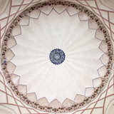 Cieling detail, Humayun's Tomb, Nizamuddin East, New Delhi, India Impressão fotográfica