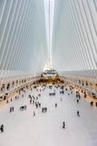 Interior view of Oculus Transportation Hub, NY, NY Fotoprint