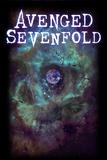 Avenged Sevenfold - Earth Eye Kunst