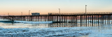 Pismo Beach pier at sunrise, San Luis Obispo County, California, USA Fotografie-Druck