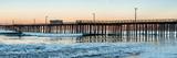 Pismo Beach pier at sunrise, San Luis Obispo County, California, USA Photographic Print