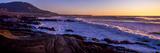 Rocky coastline at sunset, Montana de Oro State Park, Morro Bay, California, USA Fotografie-Druck
