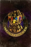 Avengers: Infinity War - Gauntlet (Nostalgic) Stampe