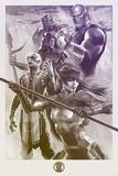 Avengers: Infinity War - Painterly Villains Poster