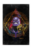 Avengers: Infinity War - Thanos (Nostalgic) Poster