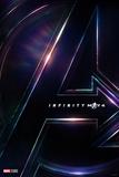 Avengers: Infinity War - Avengers Logo Kunstdrucke
