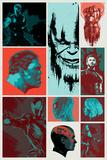 Avengers: Infinity War - Blocks Kunstdrucke