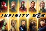 Avengers: Infinity War - Avengers Grid Kunstdruck