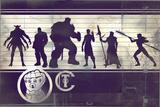 Avengers: Infinity War - Villains Chart Affiches