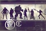 Avengers: Infinity War - Villains Chart Poster