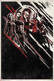 Avengers: Infinity War - Red and Black Streaks Kunst
