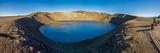 Viti, a huge explosion crater, Northern Iceland.  On March 29, 1875 Impressão fotográfica