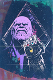 Avengers: Infinity War - Thanos (Watercolor) Prints