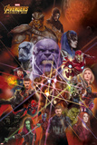 Avengers: Infinity War - Heroes and Villians Photographie