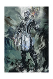 Avengers: Infinity War - The Ebony Maw Painted Poster