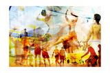 Beach Volleyball 2 Premium Giclee-trykk av  THE Studio