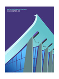 Architectural Icons 5 Premium Giclee Print by  THE Studio