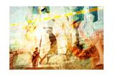Beach Volleyball 1 Premium Giclee-trykk av  THE Studio